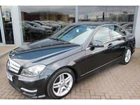 Mercedes C220 CDI BLUEEFFICIENCY AMG SPORT. VAT QUALIFYING
