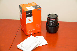 New Sony 100mm 2.8 Macro lens SAL100M28