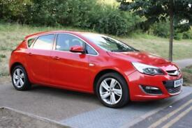 2014 Vauxhall/Opel Astra 1.4i VVT 16v ( 100ps ) Excite FACELIFT, LOW MILEAGE