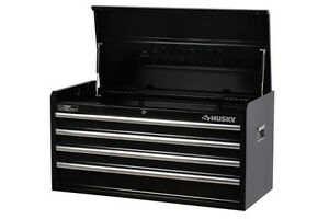 BRAND NEW HUSKY 40 In 4-Drawer Black Tool Chest IN BOX