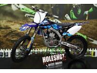 2013 YAMAHA YZF 450 MOTOCROSS BIKE, AKRAPOVIC EXHAUST, NEW GRIPS