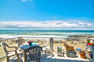 Snowbird's Dream! Oceanfront Home w/Private Beach! Discount Rate