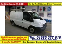 2011 - 11 - FORD TRANSIT T280 2.2TDCI 85PS FWD SWB VAN (GUIDE PRICE)