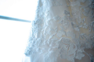 Beautiful Fit and Flare Wedding Dress