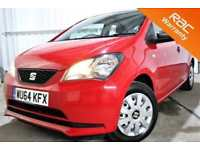 2014 64 SEAT MII 1.0 S 5D 59 BHP! P/X WELCOME! 1 OWNER! FULL DEALERSHIP HISTORY!