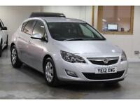 2012 Vauxhall Astra 1.7 CDTi ecoFLEX 16v Exclusiv (s/s) 5dr