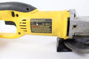 """USED DeWalt DC410 18V 4-1/2"""" Cordless Angle Grinder (Tool Only)"""
