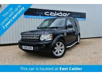 2010 60 LAND ROVER DISCOVERY 4 3.0 4 TDV6 GS 5D AUTO 245 BHP DIESEL