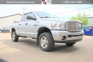 2008 Dodge Ram 2500 SLT, BETTER SHAPE THAN MOST WITH 1/2 THE KMS
