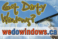 Professional Window Cleaning from $59