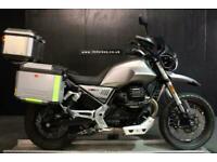 2020 MOTO GUZZI V85 TT LUGGAGE EXTRA'S 2,100 MILES