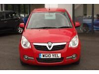 2010 Vauxhall Agila 1.2 i 16v Design 5dr (a/c)