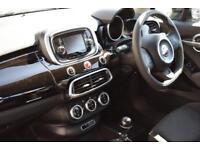 2016 Fiat 500X 1.4 MultiAir Pop Star (s/s) 5dr Petrol black Manual