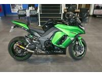 Kawasaki Z1000SX 2014 Black/ Green with Only 10584miles
