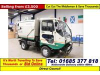 2007 - 07 - SCARAB MINOR 4.2TON HYDROSTATIC SWEEPER (GUIDE PRICE)