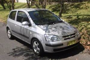 2004 Hyundai Getz Hatchback Mount Colah Hornsby Area Preview