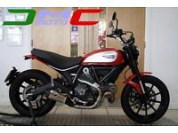 2016 Ducati Scrambler Icon Red 803 miles Termi Exhaust | £89 pcm