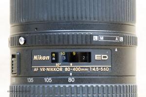 Nikon 80-400 - f4.5 - 5.6D ED