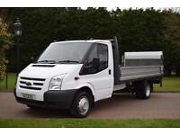 Ford Transit Dropside 13ft6 aluminium with 500kg tail lift T350