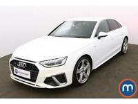 2020 Audi A4 40 TDI Quattro S Line 4dr S Tronic Auto Saloon Diesel Automatic