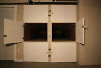 Rowing Shell, Kayak and Canoe Storage Lockers for Rent – West Ba