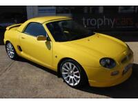TROPHY CARS MGF 160 TROPHY 27k,HARDTOP,IMMACULATE,NEW HEADGASKET,1YR WARRANTY