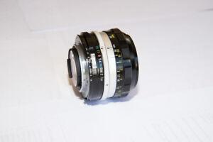 Nikon Nikkor-SC Auto 50 mm f1.4 Ai lens - mint