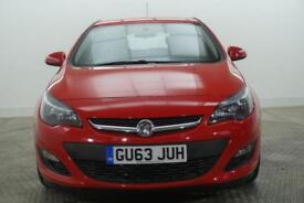 2014 Vauxhall Astra EXCITE Petrol red Manual
