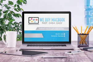 We buy Macbook - Cash any condition - working or dead