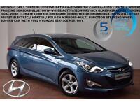 2013 Hyundai i40 1.7CRDi (116ps) Blue Drive Style-SAT NAV-REV CAMERA-B.TOOTH-FSH