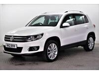 2012 Volkswagen Tiguan SPORT TDI BLUEMOTION TECHNOLOGY 4MOTION DSG Diesel white