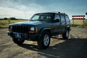 2001 Jeep Cherokee 4x4 winter ready