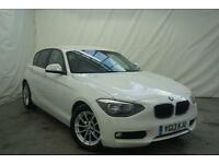 2013 BMW 1 Series 116D EFFICIENTDYNAMICS Diesel white Manual