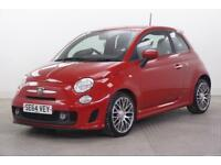 2015 Abarth 500 CUSTOM Petrol red Manual
