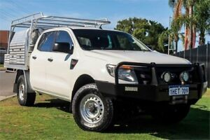 2014 Ford Ranger PX XL White 6 Speed Sports Automatic Utility Wangara Wanneroo Area Preview