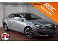 2014 Vauxhall/Opel Insignia 2.0CDTi ecoFLEX Tech Line-1 OWNER-SAT NAV-B/TOOTH-