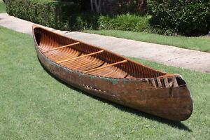 Wanted Old Wooden Canoes nearly rotten