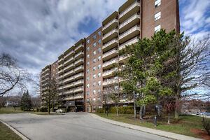 Sought after 3 Bedroom 2 Bath condo backing onto greenspace!
