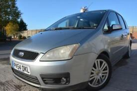 FORD FOCUS C-MAX GHIA 1.6 TDCI 5 DOOR DIESEL MPV*ALLOYS*AIR CON*12 MONTHS MOT*