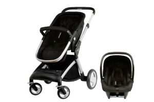 Mothercare Roam Travel System (Baby Seat + Stroller + Carrycot)
