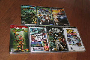 PSP games - $30 for all 7, or $8 per game - PRICE DROP
