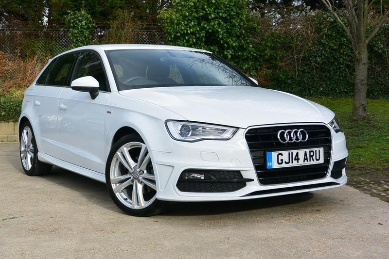 Audi A3 1 4 Tfsi 125 S Line 5 Door White 2014 In