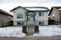 JUST LISTED! Bi-level with garage in Rocky Mountain House.