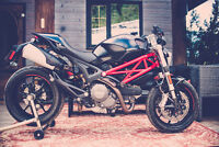 Ducati Monster 796 ABS with lots of much needed extras