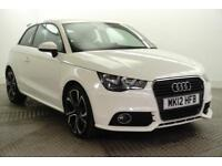 2012 Audi A1 TDI COMPETITION LINE Diesel white Manual