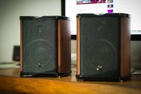 HiVi Swans M100MKII Professional Crossover Multimedia Speakers With Bluetooth 'Boxed Mint'