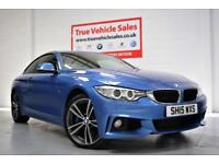 BMW 435d xDrive M Sport 3.0TD 313bhp 4X4 Auto - LOW RATE PCP £379 P/MONTH