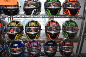 MARK DOWN SALE ON SELECT SNOWMOBILE HELMETS AT HFX MOTORSPORTS!