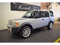 2005 05 LAND ROVER DISCOVERY 3 2.7 3 TDV6 7 SEATS 5D 188 BHP DIESEL