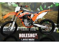 KTM 2015 KTM SXF 450 MOTOCROSS BIKE ELECTRIC START, RENTHAL HANDLEBARS